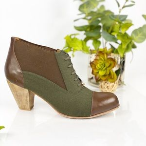 Rachel Comey Bootie Ankle Thistle Lace Up Chunky